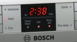 Picture of a Bosch LED display