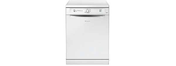 Hotpoint FDYB11011P Standard Dishwasher Free Standing White