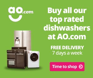 Buy all our top rated dishwashers at AO.com