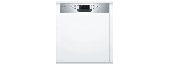 Bosch Exxcel SMI53E05GB Standard Dishwasher Built In Stainless Steel