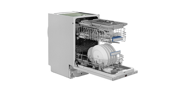 Slimline built in dishwasher