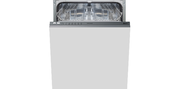 Hotpoint LSTB6M19 Fully Integrated Slimline Dishwasher - Stainless Steel Control Panel