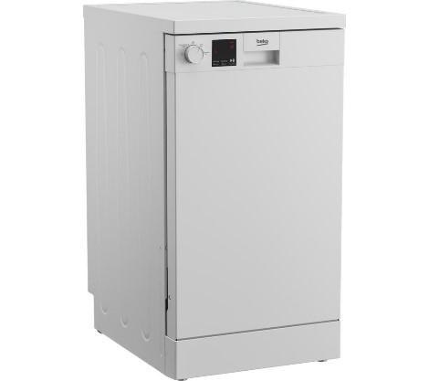 Beko DVS04X20W Slimline Dishwasher