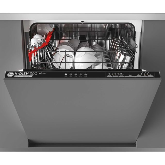 Hoover H-Dish 300 Wi-Fi Connected Fully Integrated Dishwasher