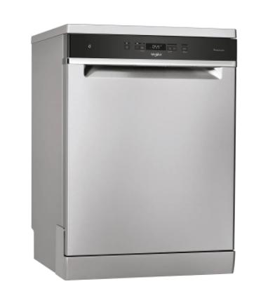 Whirlpool WFC3C33PFXUK Standard Stainless Steel Dishwasher
